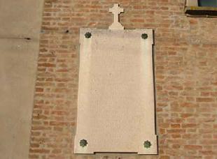 facciata esterna chiesa ca bianca chioggia prima restauro