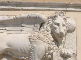 Leone di Venezia dopo il restauro