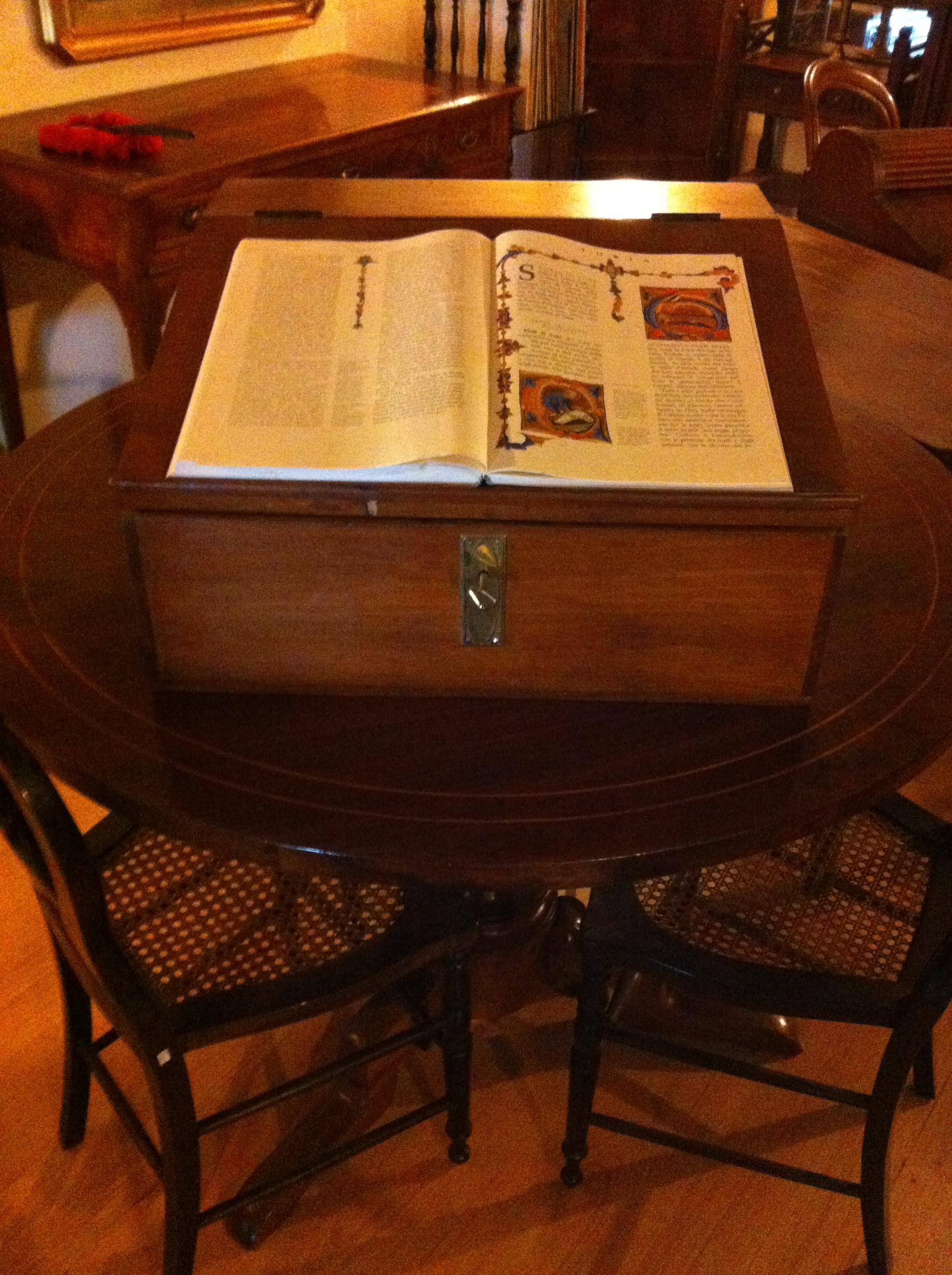 Leggio da tavolo vendita e restauro antichit cosmo - Leggio per libri da tavolo ...