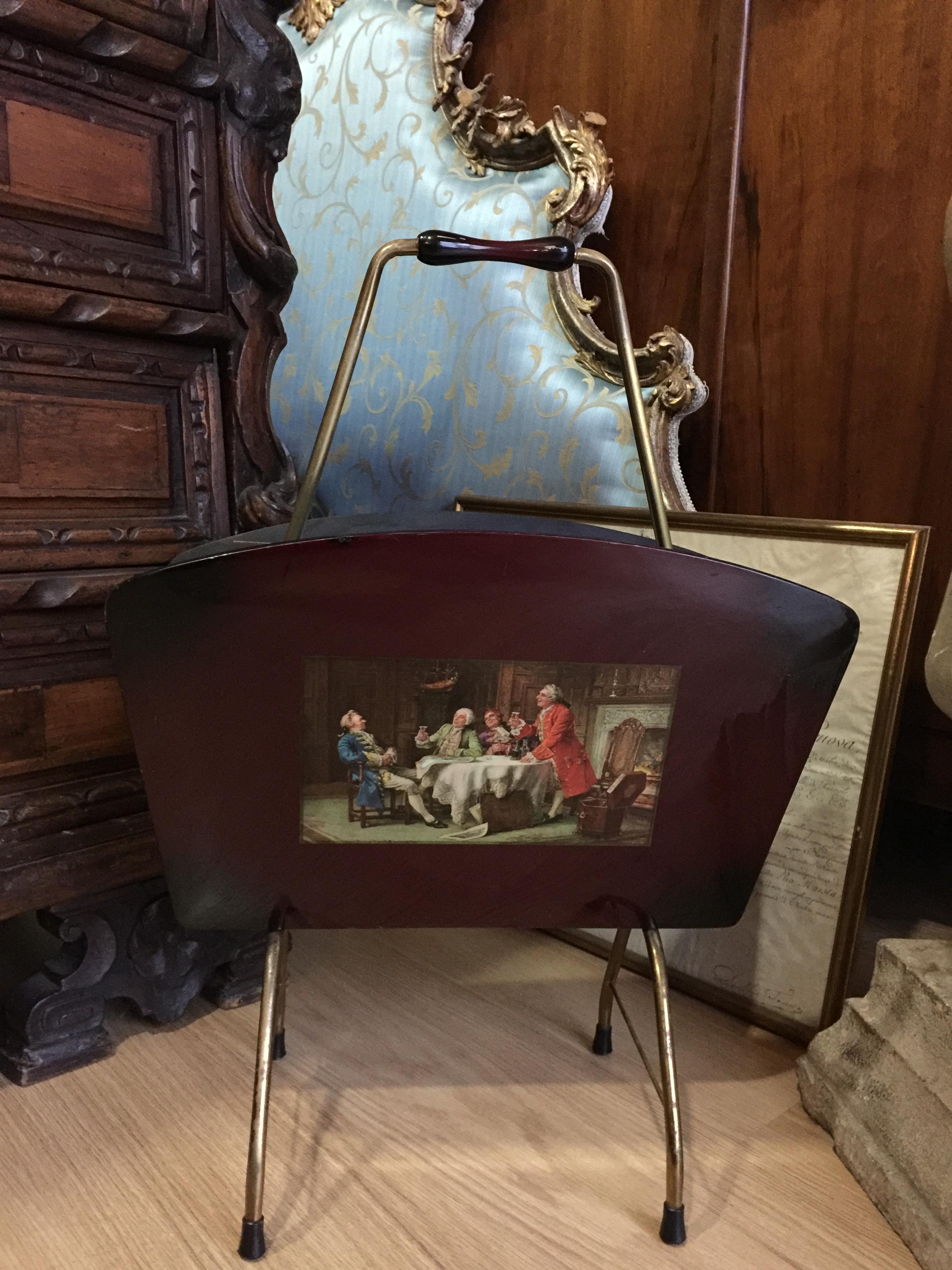 Vendita Porta Riviste.Porta Riviste Vintage Vendita E Restauro Antichita Cosmo