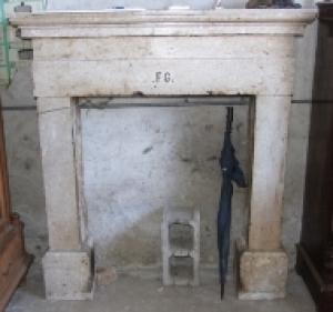 Caminetto in pietra di padula vendita e restauro for Camini antichi legno