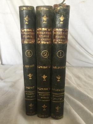 LIBRI ANTICHI STORIA DELL'AMERICA 1821